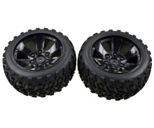 FY10 Truggy wheel set (2 pcs)