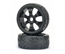 1:8 Buggy tyres Street black (2 pcs)