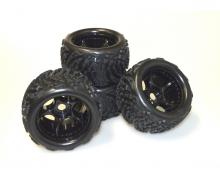 X10ET Beat Warrior wheel set (4)
