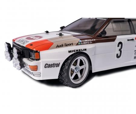 carson 1:10 Wheel Set 5 spk. Rallye (4) silver