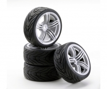 1:10 SC-Wheel 6S Style silver (4)