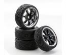 1:10 SC-Wheel W7 Style chrome/black (4)