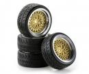 carson 1:10 SC-Wheel Classic Style ch/gold (4)