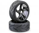 Wheels (2) Buggy  Street 1:8 black