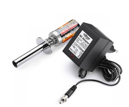 carson 1,2V/2500mAh Glow-plug Battery/Charger