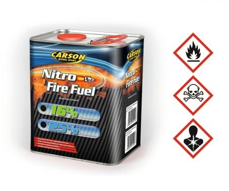 Fuel Nitro-Fire 25% Nitro/2L Glow Engine
