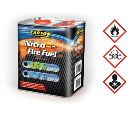 carson Fuel Nitro-Fire 25% Nitro/2L Glow Engine