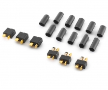 carson T-plug, 3 pairs
