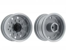 carson 1:14 Trailerwheel f. Tire wide Silver(2)