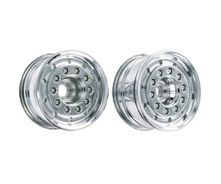 carson 1:14 Truck Front Wheel wide Chrome (2)