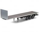 carson 1:14 3-Axle Flatbed-Trailer Ver.II