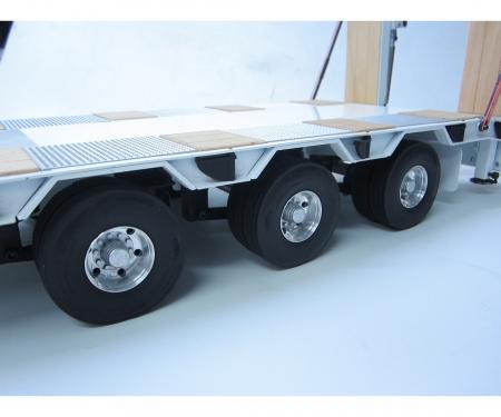 carson 1:14 Alum. Low Loader Twin-Wheel Set (2)