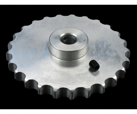 1:14 LR Alu Sprocket wheel univer.(1)8mm