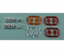 carson 1:14 3+1-section (2) Trailer Taillight