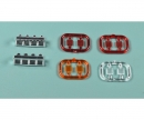 carson 1:14 4-section (2) Trailer Taillight