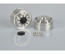1:14 Alum. Fr. narrow wheel (2)dri.axle