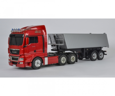 1:14 2-Axle Dump Semi-Trailer (4 Wheel)