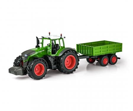carson 1:16 RC Traktor mit Anhänger 100% RTR