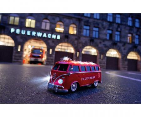 carson 1:14 VW T1 Samba Bus Feuerwehr 100% RTR