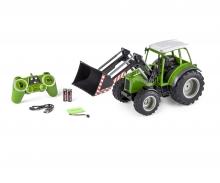 carson 1:16 RC Traktor m. Frontlader 2.4G 100%