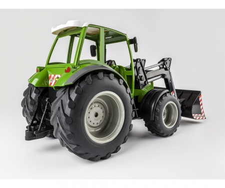 carson 1:16 RC Tractor w. front loader 2.4G 100%
