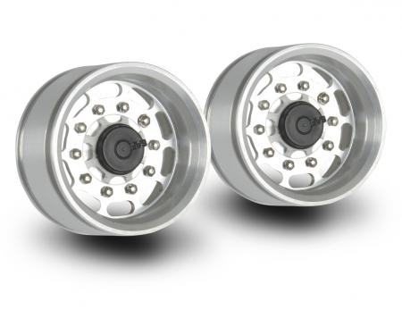 1:14 Alum. Trailer Wheel (2) long hole