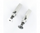 1:14 Alum. Trailer support legs (2) 73mm