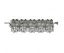 Hydraulic quintuple control valve
