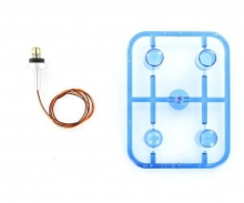 1:14 LED Flashing Light (1) blue Uprig.