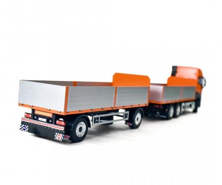 carson 1:14 2-Axle Material Trailer