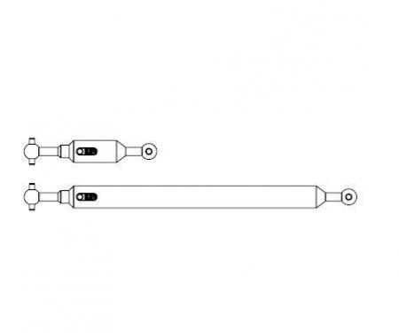 carson 1:14 Prop.shaft Set 6x4 (2) Tipper adj.