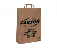 carson Carson Papiertüte 22x10x28 klein