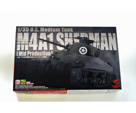 carson 1:35 US SHERMAN M4A1 (Mid Production)