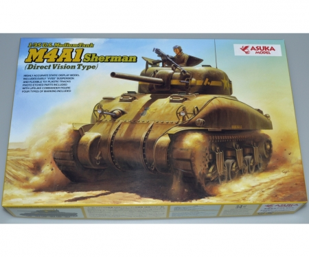 carson 1:35 US M4A1 SHERMAN Direct Vision Type