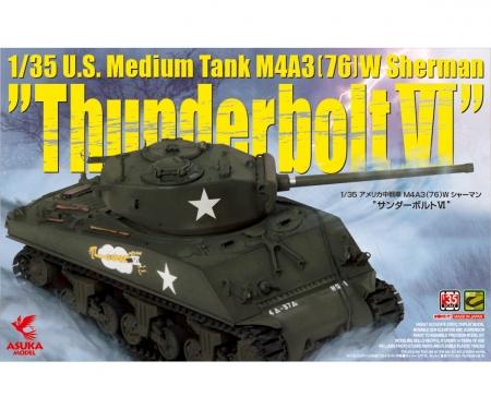 1:35 US SHERMAN M4A3 Thunderbolt VI