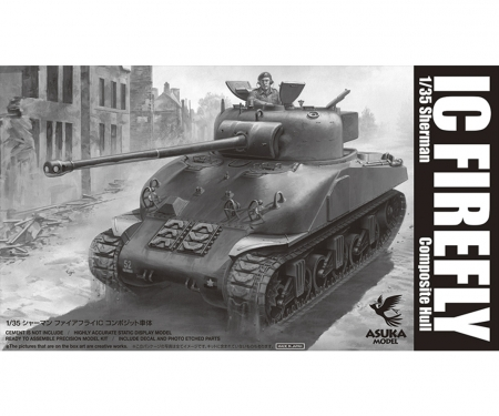 1:35 Brit.Sherman IC FIREFLY compos.hull
