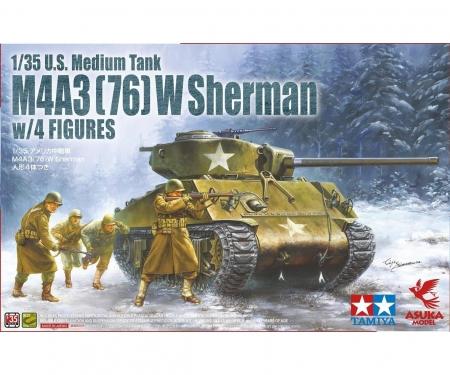 1:35  M4A3(76)W Sherman w/Figures