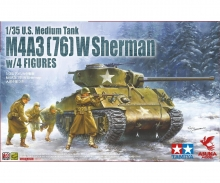 carson 1:35  M4A3(76)W Sherman w/Figures