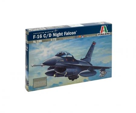 carson 1:72 F-16 C/D Night Falcon