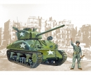 carson 1:35 Sherman M4A1