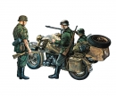 carson 1:35 BMW R 75 with Side Car