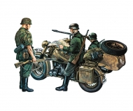 1:35 BMW R 75 with Side Car