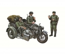 carson 1:35 Motorcycle side car Zündapp KS750