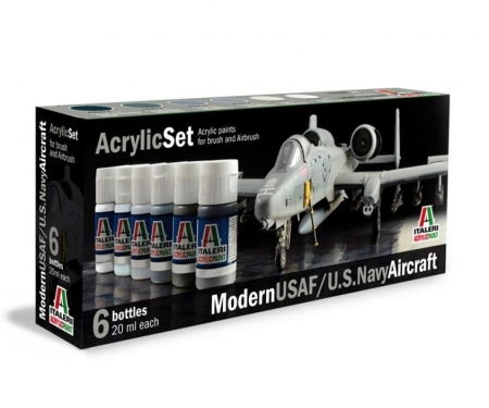 carson Acryl Set Modern USAF/U.S. Navy Aircraft