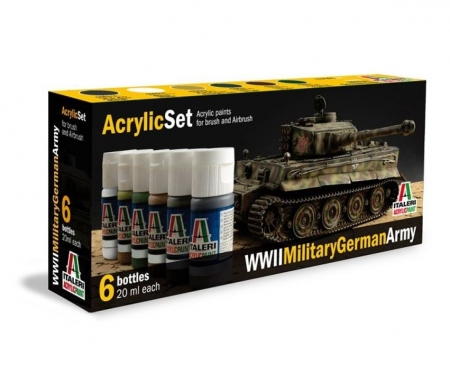 Acryl Set WWII Military German Army