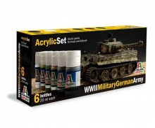 carson Acryl Set WWII Military German Army
