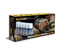 carson Acrylic Set Modern Military Vehicles