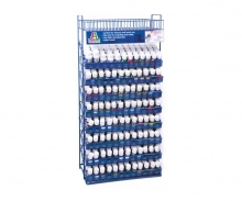 IT Acrylic Paint Rack, filled