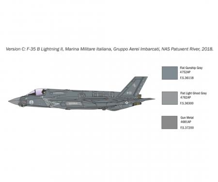 carson 1:72 F-35B Lightning II V/STOL Vers.