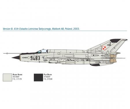 carson 1:72 MiG-21 Bis